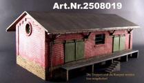 Lagerschuppen, 3D, Spur 1