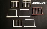 Fensterset 3fl., 48x38 mm, Spur 1